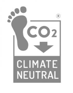 earth positive climate neutral logo